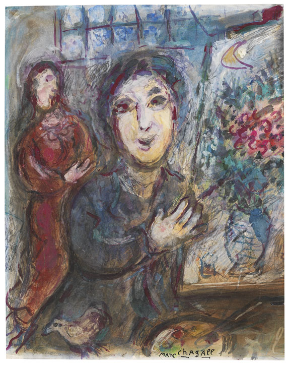 Drawings for the Bible Marc Chagall